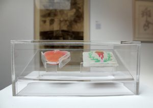 Graphic Studio Dublin •Geraldine O'Reilly: Graphic Studio Dublin: In the Palm of the hand 1 & 2 with perspex box