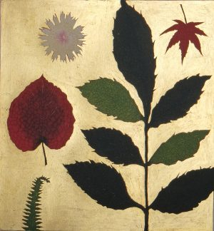 Graphic Studio Dublin •Jean Bardon: Pressed flower and Autumn leaves