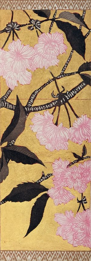 Graphic Studio Dublin • Jean Bardon: Detail Cherry Blossom I
