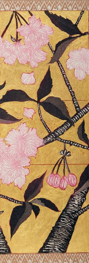 Graphic Studio Dublin • Jean Bardon: Detail Cherry Blossom II