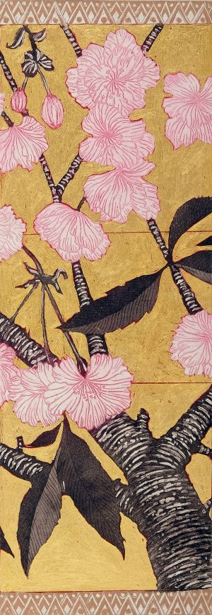 Graphic Studio Dublin • Jean Bardon: Detail Cherry Blossom III