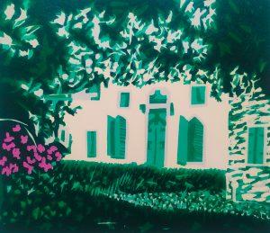 Graphic Studio Dublin •Gerard Cox: Gerry Cox, Veneto Garden No. 2