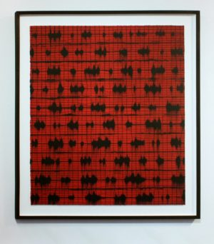Graphic Studio Dublin • Mark Francis: Graphic Studio Dublin: Red Grid (Vibrate)