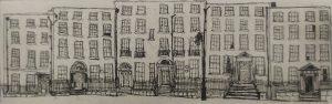 Graphic Studio Dublin •Niamh MacGowan: Henrietta Streetscape I