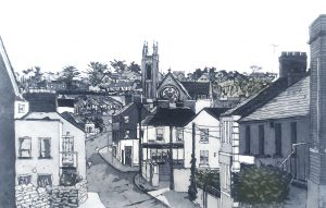 Graphic Studio Dublin • Susan Early: Howth Village III