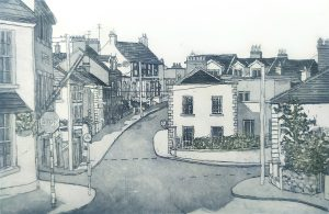 Graphic Studio Dublin • Susan Early: Howth Village IV