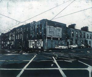 Graphic Studio Dublin •Vaida Varnagiene: Thomas Street View 2