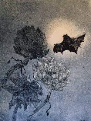 Patrick Hickey Bat and Artichocke