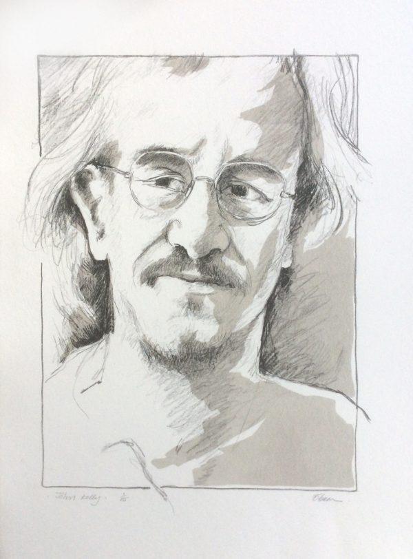 Diamond Point-Liam O Broin - lithograph - John Kelly
