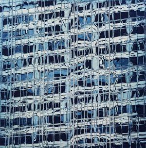 Graphic Studio Dublin •Matthew Gammon: Diamond Point-Matthew Gammon-Polymer Photograveur print - Liquid Skyscraper