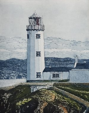 Graphic Studio Dublin • Susan Early: Diamond Point-Susan Early - etching - Fanad Head