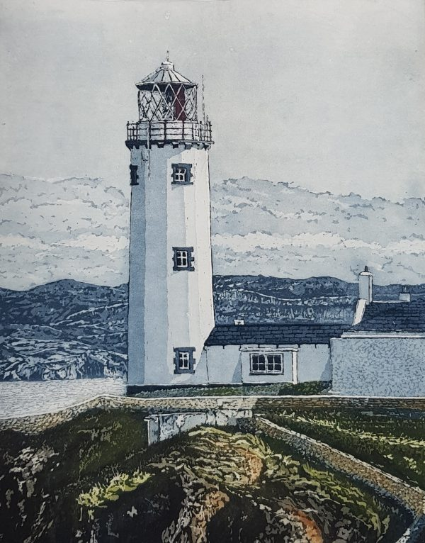 Diamond Point-Susan Early - etching - Fanad Head