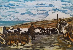 Graphic Studio Dublin •Pamela Leonard: Bringing home the cattle
