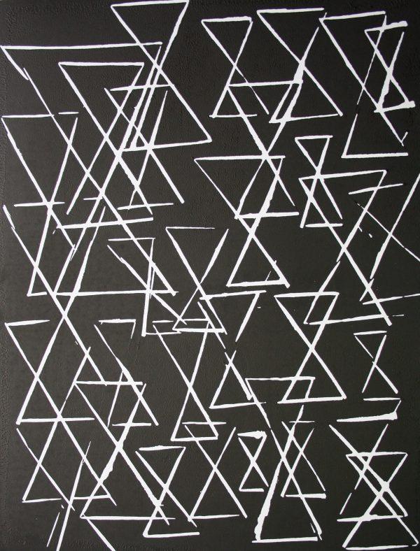 Diamond Point-Joe Ryan - Linoprint - Structural Analysis