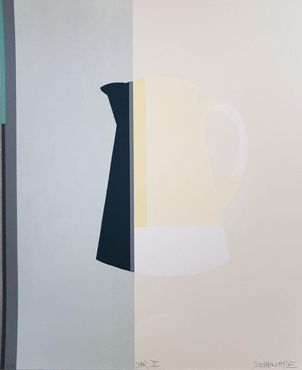 Diamond point-Siobhan Hyde-Screenprint - Jar II
