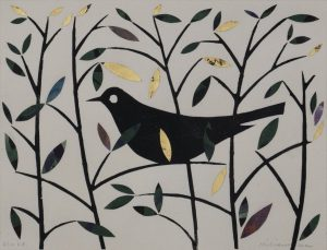 Graphic Studio Dublin • Ed Miliano: Graphic Studio Dublin: Summer Blackbird VII