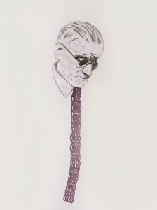 I don't mind how you paint my soul, but get my tie correct