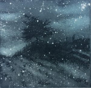 Graphic Studio Dublin • Marie-Louise Martin: Graphic Studio Dublin: Snowfall