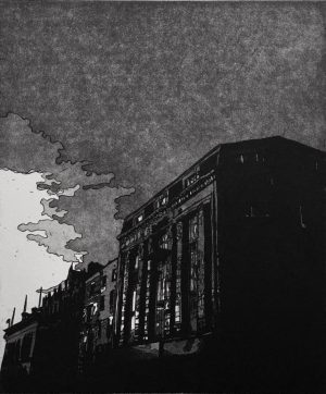 Graphic Studio Dublin •Ria Czerniak-LeBov: Ria-Czerniak-LeBov-Sundown-etching-e1613912092740