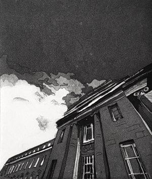 Graphic Studio Dublin •Ria Czerniak-LeBov: Ria-Czerniak-LeBov-Symphonie-etching