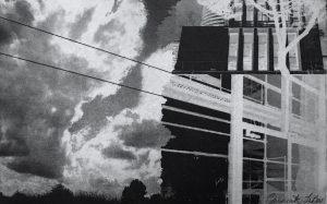 Graphic Studio Dublin •Ria Czerniak-LeBov: Ria-Czerniak-LeBov-scaping-etching