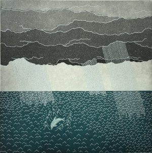 Graphic Studio Dublin: ...that dolphin-torn, that gong-tormented sea. Yoko Akino
