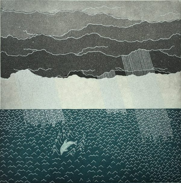 Graphic Studio Dublin: ...that dolphin-torn, that gong-tormented sea. Yoko Akino