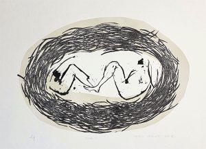 Graphic Studio Dublin •Marta Wakula-Mac: Graphic Studio Dublin: Nude IV