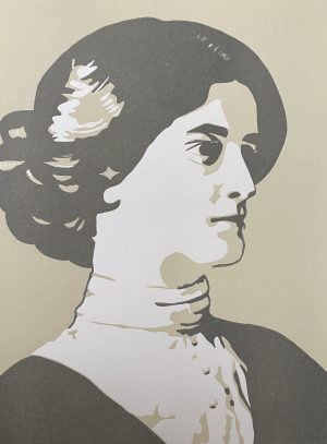 Mary Plunket, She set her white face