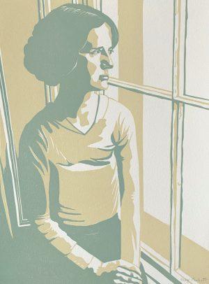 Graphic Studio Dublin •Mary Plunkett: Mary Plunket, watching