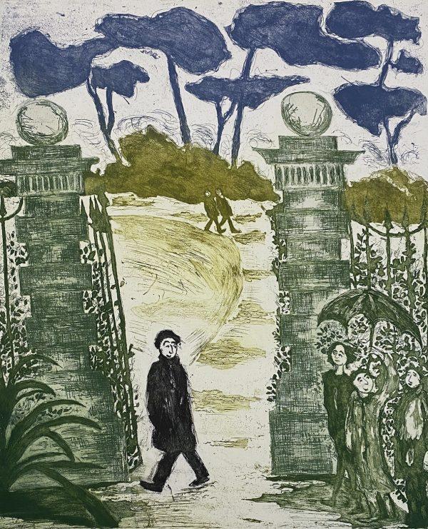 Siobhan Cuffe, Strolling, St. Stephens Green €305