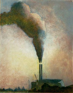 Graphic Studio Dublin •Julie Ann Haines: The chimney that never stops