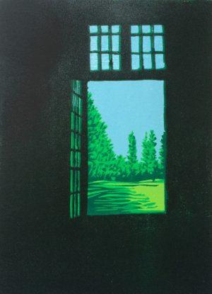 Graphic Studio Dublin •Gerard Cox: Veneto_Garden_No.1