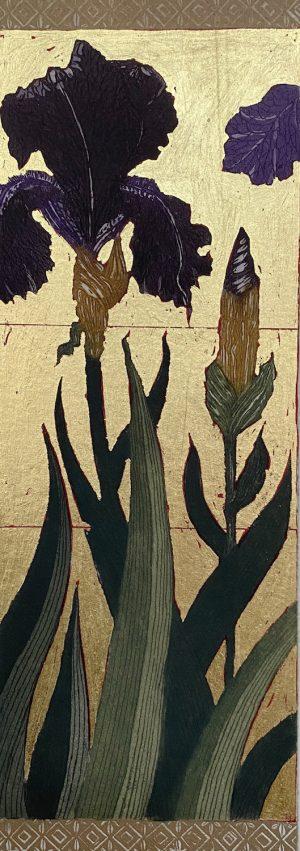 Graphic Studio Dublin •Jean Bardon: Detail Iris I