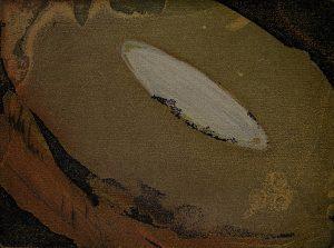 Graphic Studio Dublin •Vincent Sheridan: Burron, ed of 50, 15 x 11.2cm, etching WEB