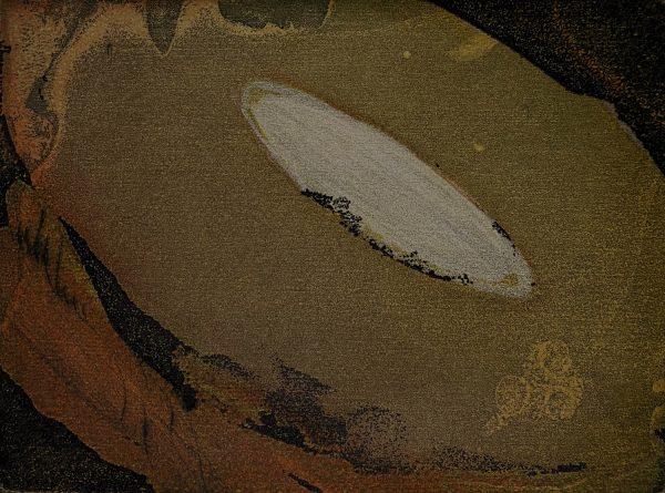 Vincent Sheridan, Burron, ed of 50, 15 x 11.2cm, etching WEB