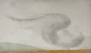 Graphic Studio Dublin •Vincent Sheridan: Glimpse of Starlings, Etching, 33 x 19.8 cm, ed of 50 WEB