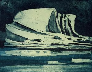 Graphic Studio Dublin •Vincent Sheridan: Untitled, 12.5x9.9cm, etching WEB