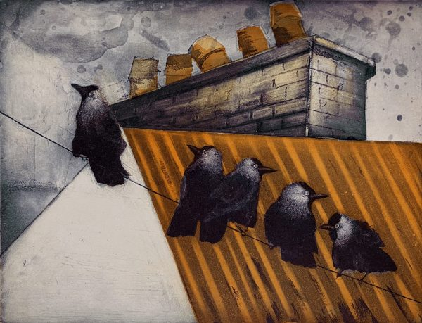 Vincent Sheridan, Untitled, Etching, 32.6x24.9cm WEB