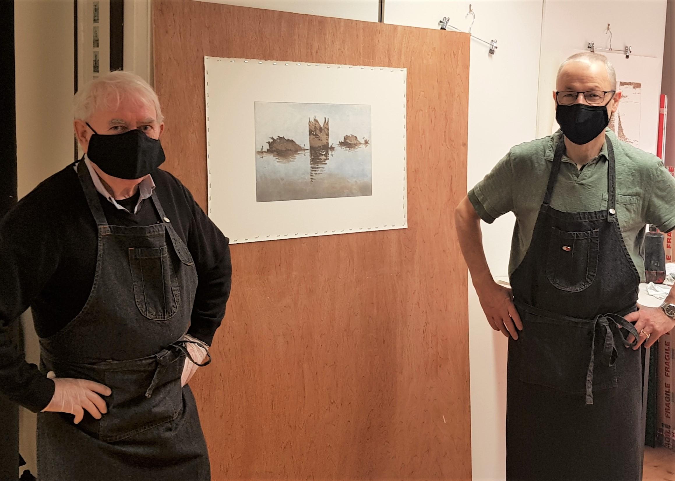 James English and Robert Russell, Masterprinter 2020