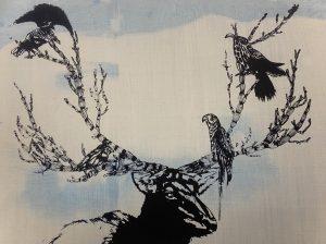 Graphic Studio Dublin •Ernada Husic: Woodland Deer WEB