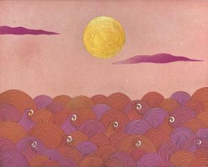 Graphic Studio Dublin •Yoko Akino: The dance of the red mares of Áine