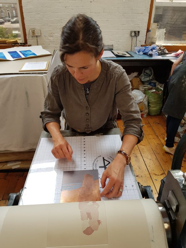 Graphic Studio Dublin: Six-Week Etching Course: Tuesdays: 12th October-27th November 2021