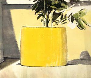 Graphic Studio Dublin •Julie Ann Haines: Graphic Studio Dublin: Yellow Planter 2
